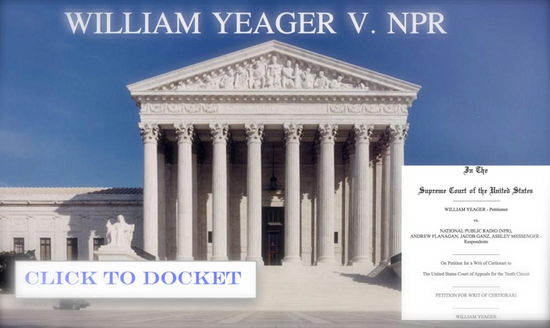 william yeager v npr supreme court 2020 scotus blog 2020 cases