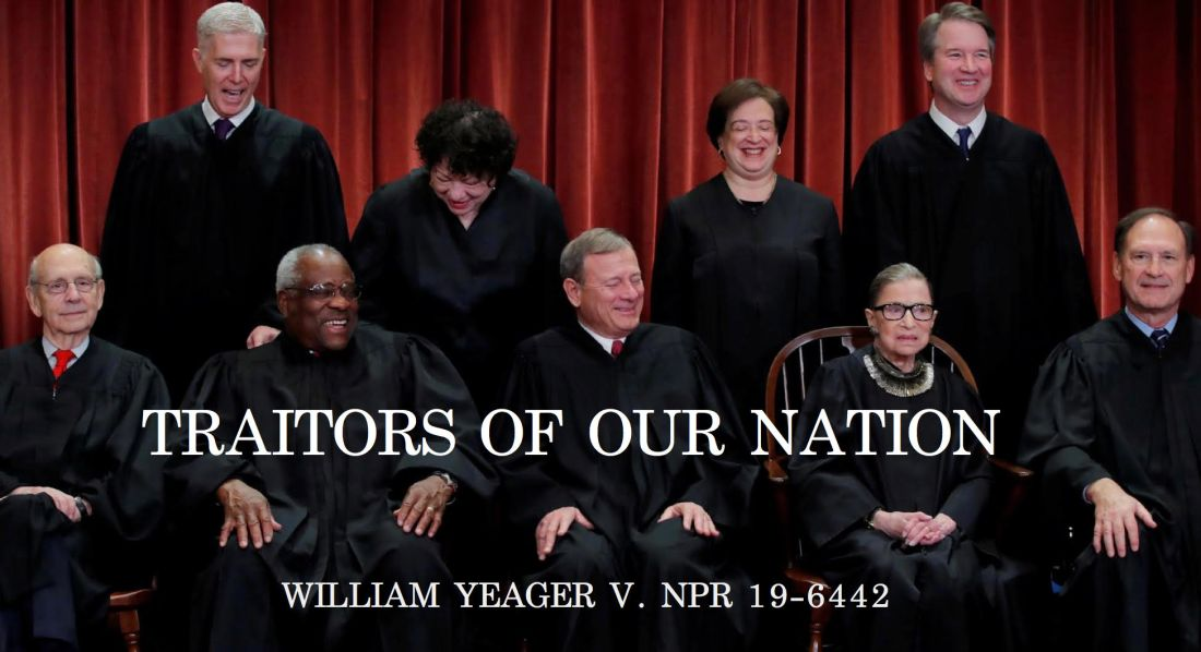 Supreme Court Justices 2020